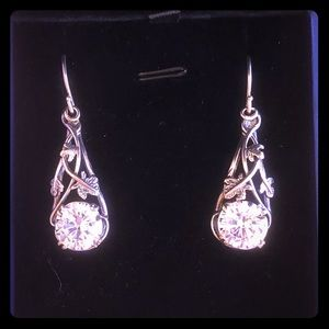 6.4 TCW Moissanite Drop Earrings